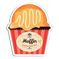 Muffin Gingerbread Sheet Mask