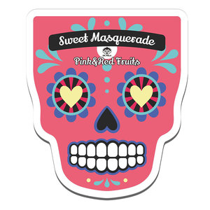 Dr. Mola Sweet Masquerade Red&Pink Fruits Mask
