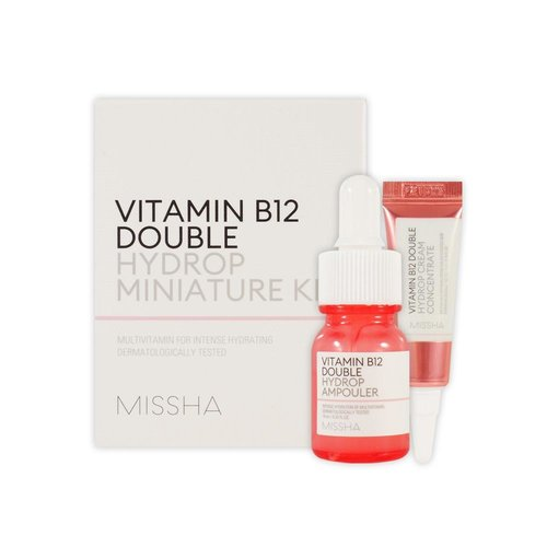 Missha Vitamin B12 Double Hydrop Miniature Kit