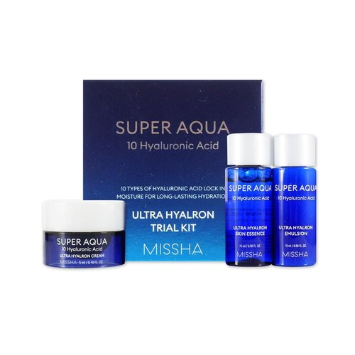 Missha Super Aqua Ultra Hyalron Trial Kit