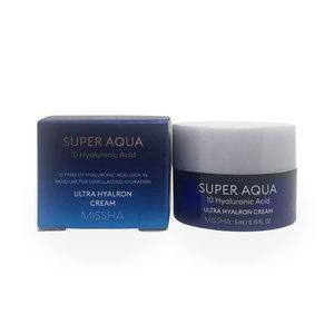 Missha Super Aqua Ultra Hyaluron Cream (Miniatuur Versie)