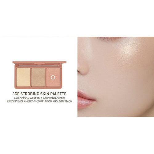 3CE Strobing Skin Palette