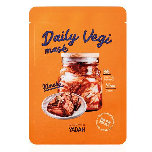 Yadah Daily Vegi Mask Kimchi