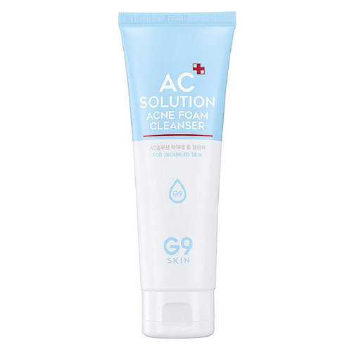 G9 Skin AC Solution ACNE Foam Cleanser