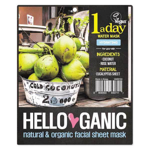 Hello Ganic One a Day Water mask