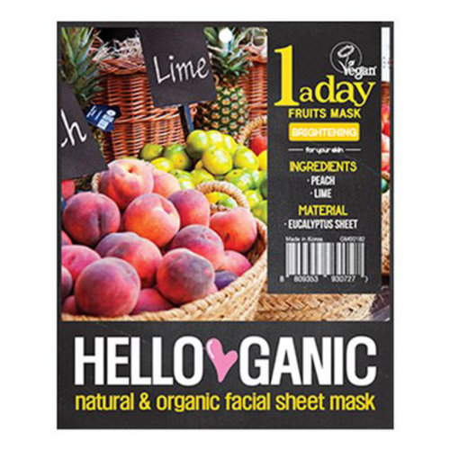 Hello Ganic One a day Fruit Mask