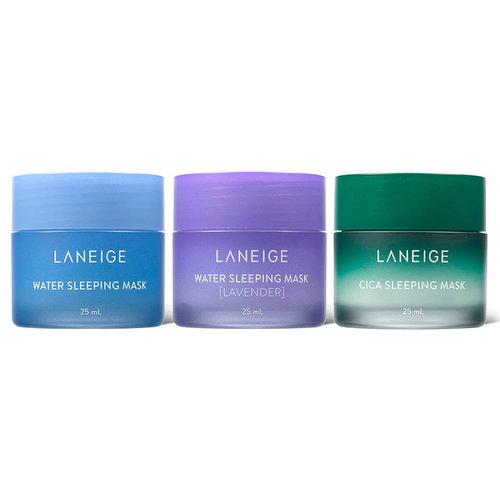 Laneige Holiday Mini Water Sleeping Mask, 3 types