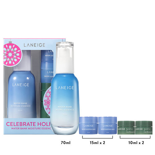 Laneige Holiday Water Bank Essence Moisture Special Set
