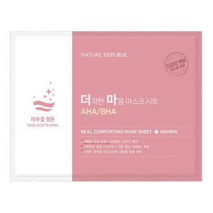 Nature Republic Real Comforting Mask Sheet [AHA/BHA-1PPM/10PPM]