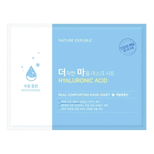 Nature Republic Real Comforting Mask Sheet [Hyaluronic Acid]