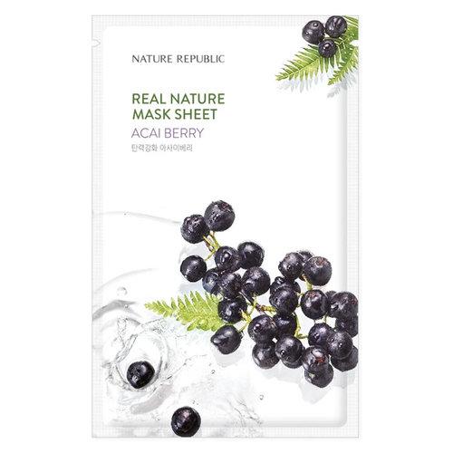 Nature Republic Real Nature Acai Berry Sheet Mask