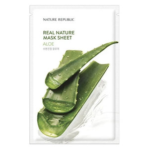 Nature Republic Real Nature Aloe Sheet Mask
