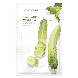 Nature Republic Real Nature Cucumber Sheet Mask