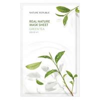 Real Nature Green Tea Sheet Mask