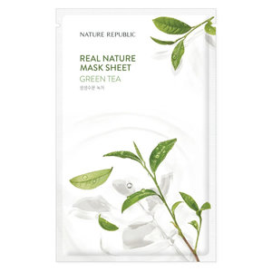 Nature Republic Real Nature Green Tea Sheet Mask