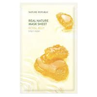 Real Nature Royal Jelly Sheet Mask