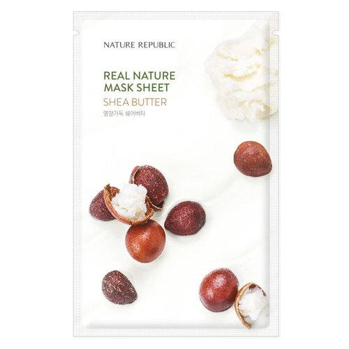 Nature Republic Real Nature Shea Butter Sheet Mask