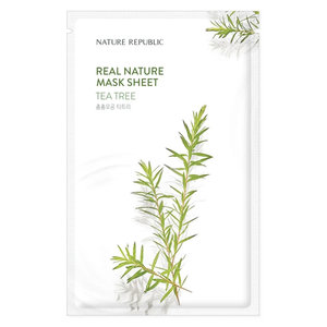 Nature Republic Real Nature Tea Tree Sheet Mask