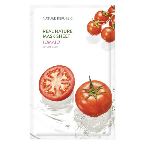 Nature Republic Real Nature Tomato Sheet Mask