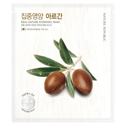 Nature Republic Real Nature Argan Hydrogel Mask