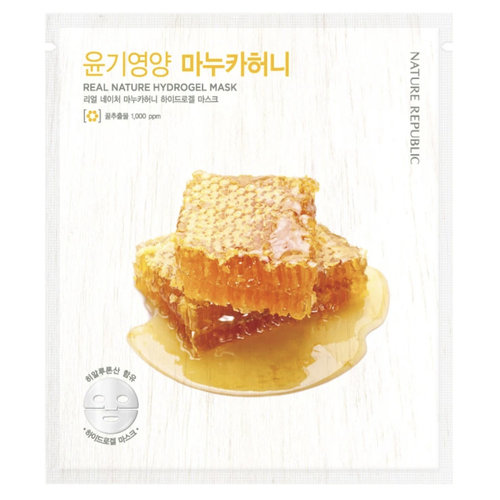 Nature Republic Real Nature Manuka Honey Hydrogel Mask