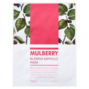 A'pieu Mulberry Blemish Ampoule Mask