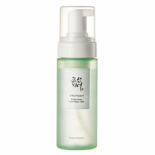 Beauty of Joseon Bubble Toner Green Plum + AHA
