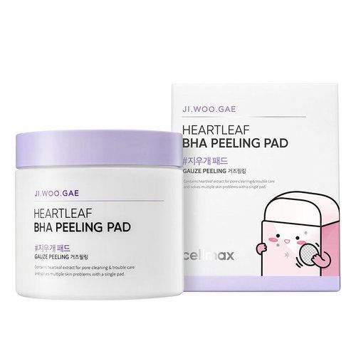 Celimax Jiwoogae Heartleaf Bha Peeling Pad