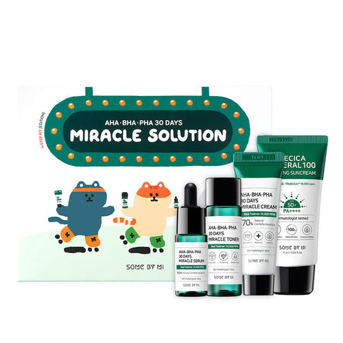 Some By Mi AHA BHA PHA 30 Days Miracle Solution 4-Step Kit