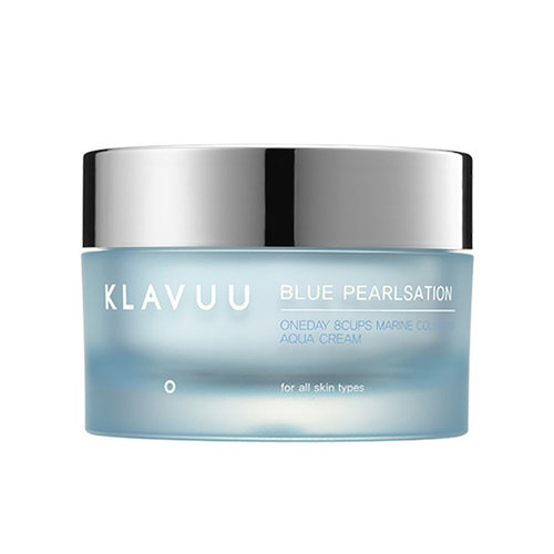 Klavuu Blue Pearlsation One Day 8cups Marine Collagen Aqua Cream