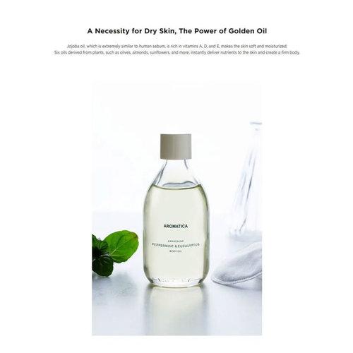 Aromatica Awakening Peppermint & Eucalyptus Body Oil