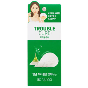 AcroPass Trouble Cure (skin cleanser 6ea+trouble cure 6 patches)