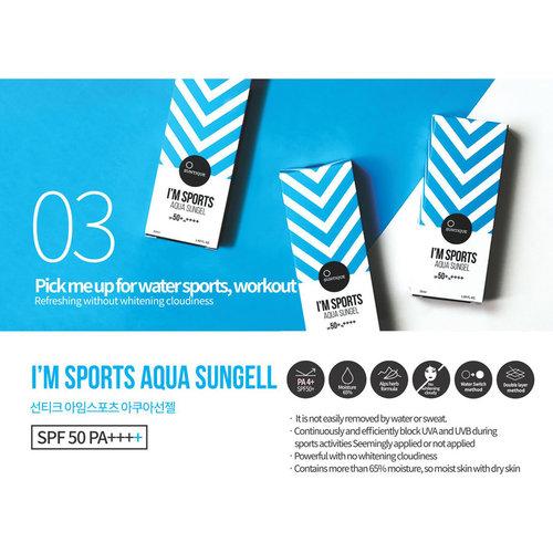 Suntique I'M  Aqua Sun Essence SPF50+ PA++++