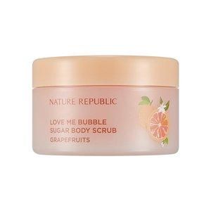 Nature Republic Love Me Bubble Sugar Body Scrub Grapefruit