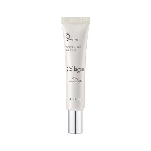 9Wishes Collagen Ampule Eye & Face Cream