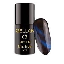 Cat eye gellak Blauw, 5 ml