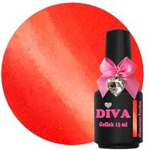 Diva gellak cat eye Glamorous Peaches 15 ml