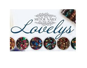 Lovelys Hexagon glitters