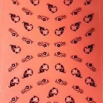 Sticker met strass