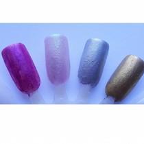 Chrome nagel pigment Goud-Geel