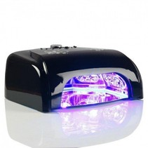 UV/LED 36 W nagellamp Zwart