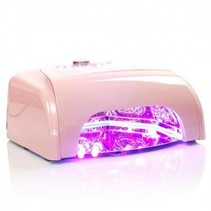UV/LED 36 W nagellamp Roze