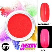 UV Pigment poeder Neon Rood