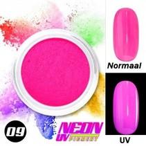 UV Pigment poeder Neon Flamingo roze
