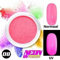 UV Pigment poeder Neon Roze
