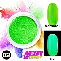 UV Pigment poeder Neon Groen