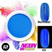 UV Pigment poeder Neon Blauw