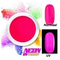 UV Pigment poeder Neon Fuchsia