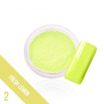 Glow in the dark pigment Fresh Lemon