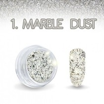 Marble Dust Zwart/Wit